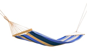 hammock isolated on white background