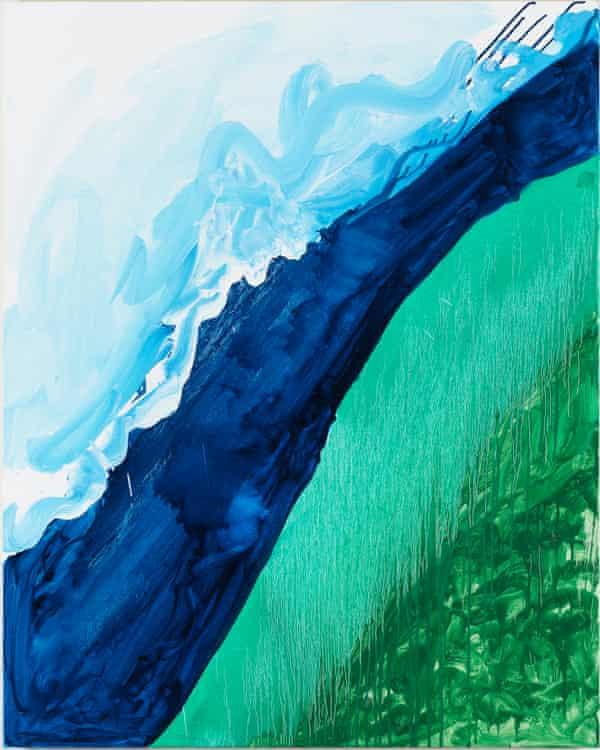 Mary Heilmann's Crashing Wave