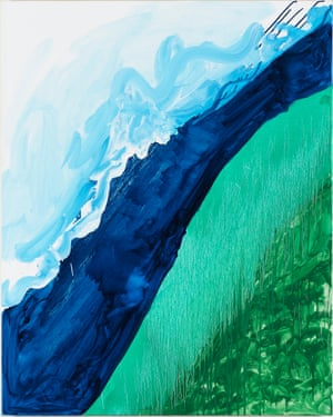 Mary Heilmann's Crashing Wave