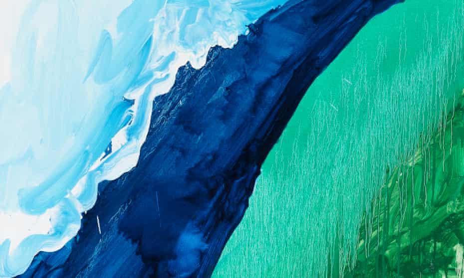 Crashing Wave, 2011, by Mary Heilmann.