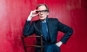 'I couldn't wait to get typecast' … Nighy.