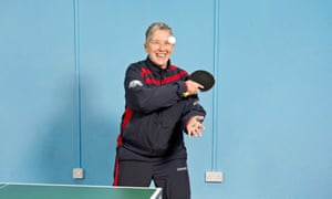 Geralyn Meyler: 'My dad was a county league table tennis player.'
