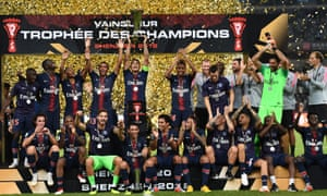PSG beat Monaco 4-0 to win the Trophée des Champions on Saturday.