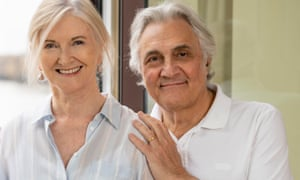 Nula with Suchet. They met while caring for their former spouses, who both had vascular dementia.
