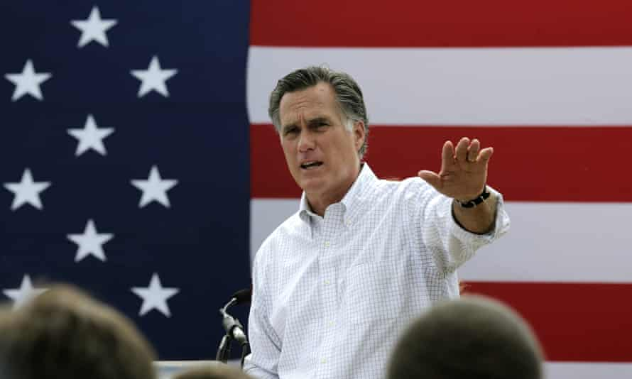Mitt Romney has previously said Trump's 'third grade theatrics' are not worthy of the presidency.