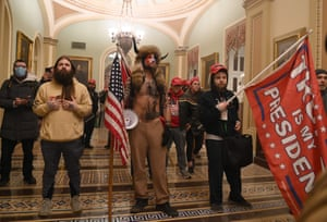 Washington DC, US – Supporters of Trump enter the US Capitol after breaching security as Congress debated the electoral vote certification.