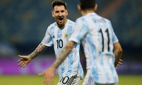 Argentina face Colombia in Copa América semis after Messi magic