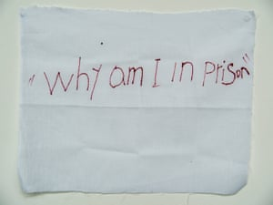 'Why am I in prison': a message from a detainee on Manus Island.