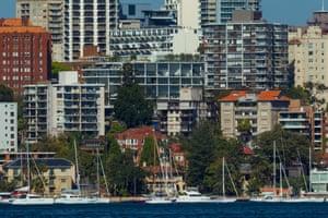 Waterfront properties in Elizabeth Bay