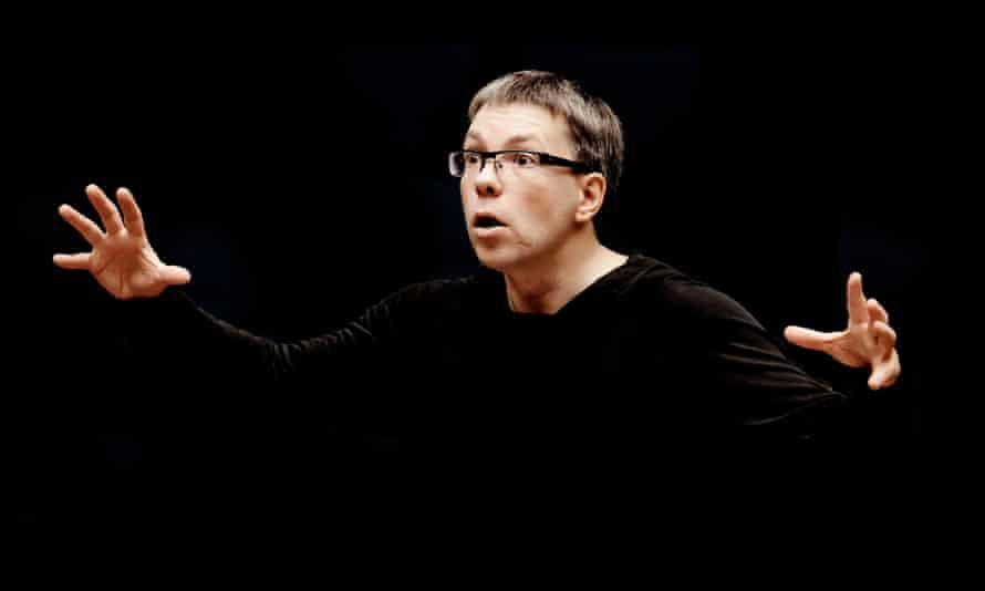 Olari Elts, who conducts the Helsinki Philharmonic