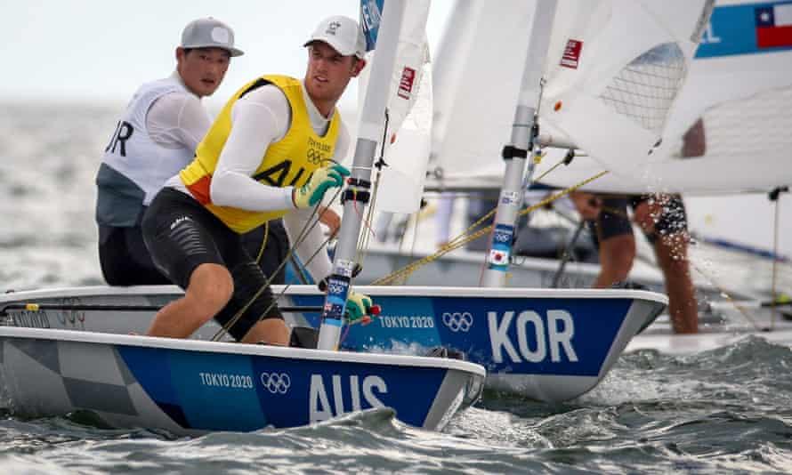 Australia's Matt Wearn