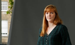 Edinburgh International Book Festival 2018Emma Healey, the author of no.1 bestseller Elizabeth is Missing seen before speaking at the Edinburgh International Book Festival, Edinburgh, Scotland. UK 20/08/2018 © COPYRIGHT PHOTO BY MURDO MACLEOD All Rights Reserved Tel + 44 131 669 9659 Mobile +44 7831 504 531 Email: m@murdophoto.com STANDARD TERMS AND CONDITIONS APPLY (press button below or see details at http://www.murdophoto.com/T%26Cs.html No syndication, no redistribution, Murdo Macleods repro fees apply. Commed. A22G5C