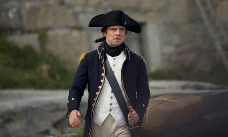 Richard Harrington as Captain Blamey in Poldark.