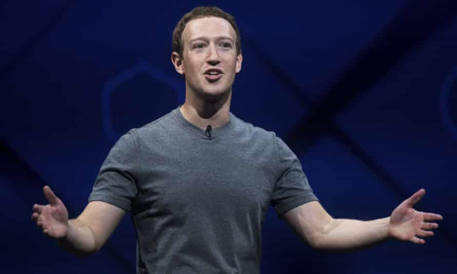 Mark Zuckerberg ... 'There is no place for hate in our community.'