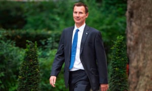 Jeremy Hunt, the health secretary, said the NHS would still be able to recruit staff from the EU after Brexit.