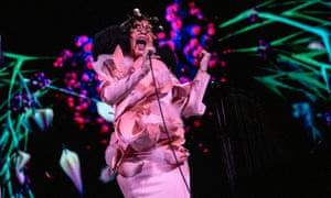 Resplendent … Björk.