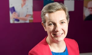 Andrea Sutcliffe, the new head of the Nursing and Midwifery Council
