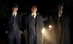 From left, Paul Anderson, Cillian Murphy and Finn Shelby in Peaky Blinders.