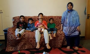 Sofa Akther lives in Donald Hunter House in Newham with her husband and five children.