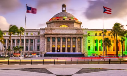 The capitol building in San Juan. All opposition parties in the country have vowed to boycott the Sunday poll, further threatening its credibility.