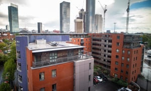 A building in Manchester built with unsafe cladding