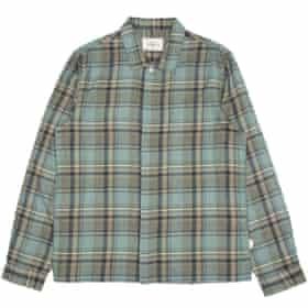 Check mate: Shirt, £125, folkclothing.com