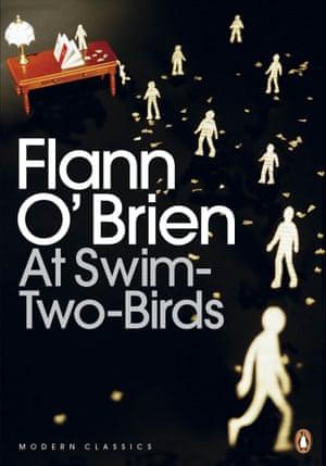 At Swim-Two-Birds by Flann O'Brien.
