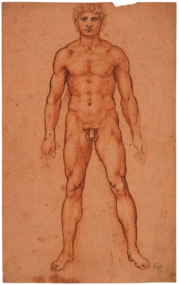 Leonardo da Vinci's A Nude Man from the Front: a fusion of ...