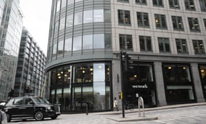 The WeWork space near Liverpool Street station in the City of London.