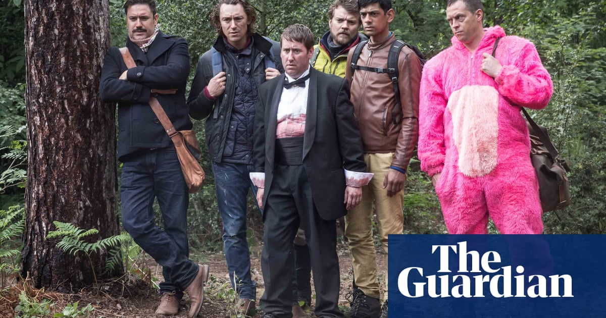 BBC comedy Stag: 'The idea of stripping them naked and