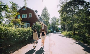 Wooden houses in Käpylä