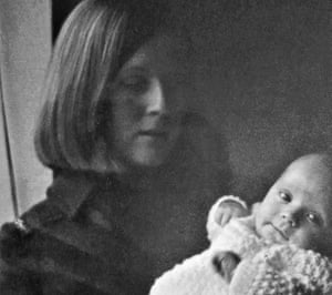 Jill Killington, 16, with the son she called Liam in 1968, just before she had to hand him over for adoption.
