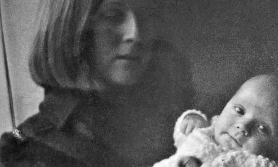Jill Killington with the baby she named Liam in 1967
