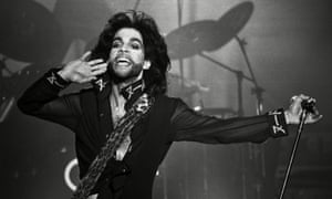 Prince in concert at Thialf stadium in the Netherlands in August 1990.