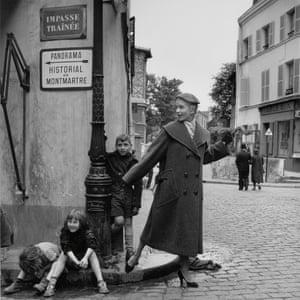 Prêt-à-porter, Montmartre, Paris, 1950
