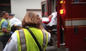 An elderly survivor was found five days after a fire gutted a senior public housing complex in Washington DC.