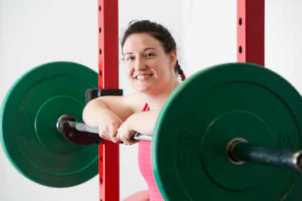 Aisling Daly in her gym.