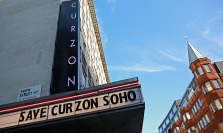 Curzon Soho in London, when it was under threat from Crossrail, 2016.