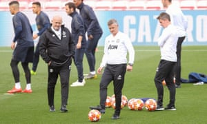 Ole Gunnar Solskjær returns to the pitch where he scored the winning Champions League final goal in 1999.