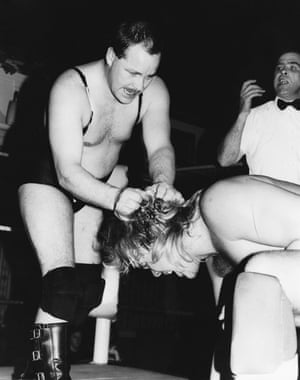 Wrestling appeared in hundreds of UK town halls and theatres night after night, as well the weekly Saturday slot just before the football scores