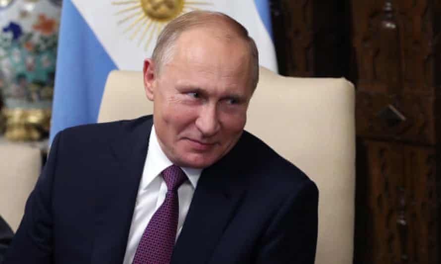Russian President Vladimir Putin - who is not dead