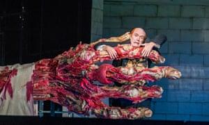 Gripped by Wagner … Alan Oke as Loge in Das Rheingold.