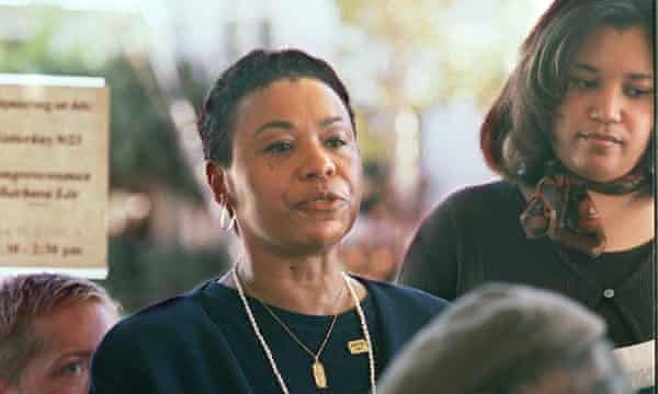 Barbara Lee, the only member of Congress to vote against the Authorisation for Use of Military Force in 2001.