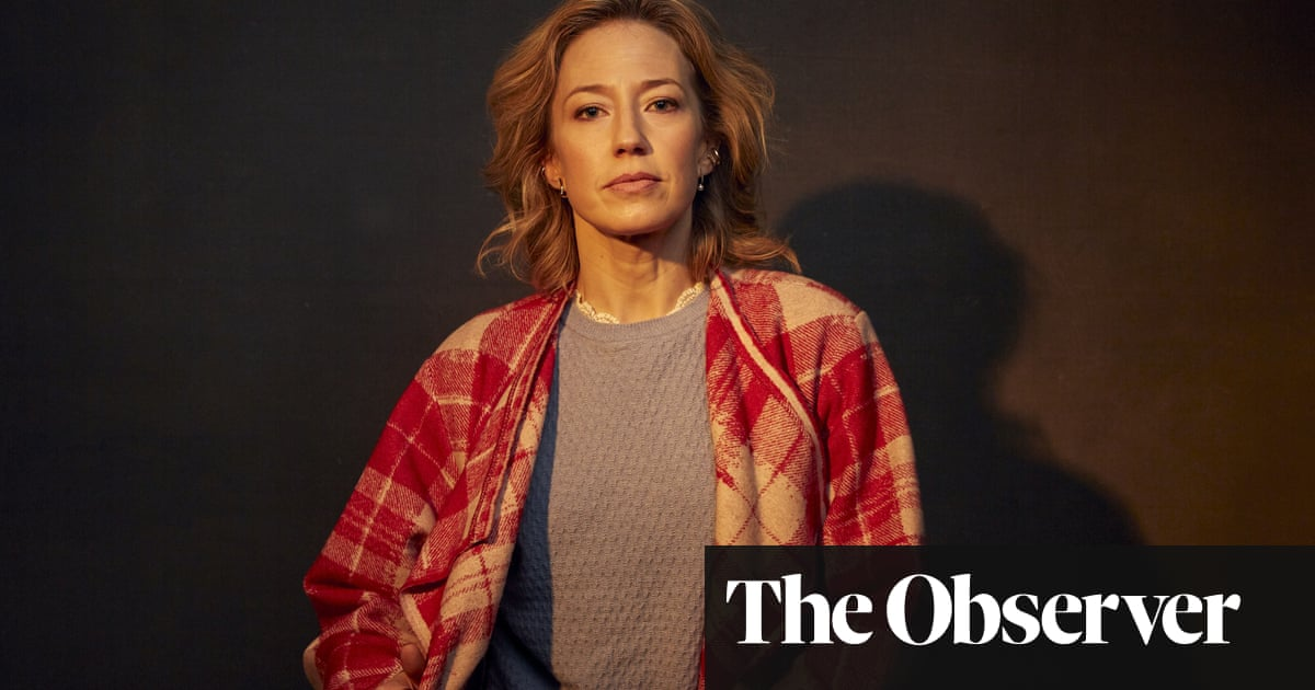 Actor Carrie Coon: 'My husband says I have ice-water in my veins'
