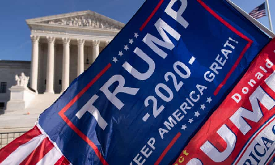 The FBI previously confirmed it was investigating the incident in which vehicles flying flags in support of Trump's re-election effort besieged a Biden bus.