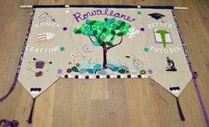 Banner by Top Floor Art and Rowallane Community Hub