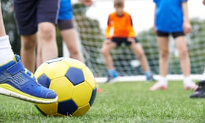 School sports pitch