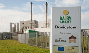 Dairy Crest's Davidstow cheese factory