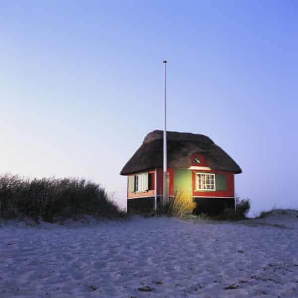 beach hut Jutland
