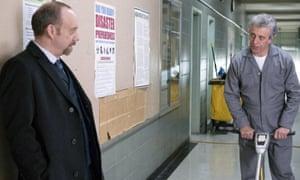Bogosian, right, with Paul Giamatti in Billions.